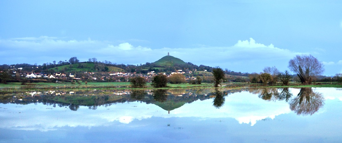 Glastonbury Tor and The Isle of Avalon